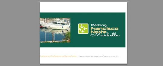Dossier Parking Francisco Norte – Marbella