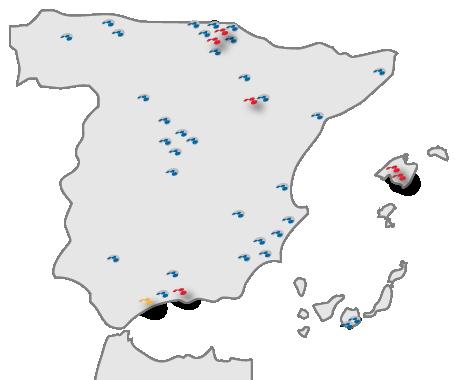 Mapa Centros Comerciales