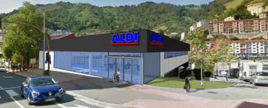 Nuevo establecimiento ALDI desarrollado por SiGLA